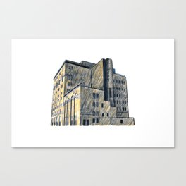 DOW BREWERY Canvas Print