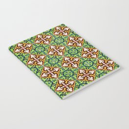 Seamless tile pattern Notebook
