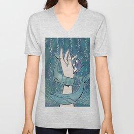 Poseidon's Whales Unisex V-Neck