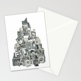 Pile of Cameras Stationery Cards