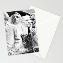 Gutzon Borglum's Prototype Model of Mount Rushmore Memorial, Black Hills, South Dakota Stationery Cards