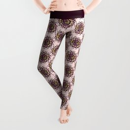 Hearts only! multi color Leggings