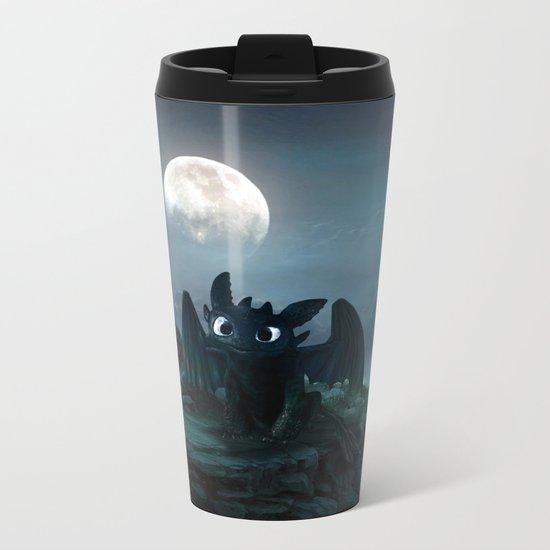 TOOTHLESS halloween Metal Travel Mug