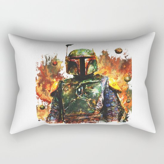 Boba Fett Rectangular Pillow