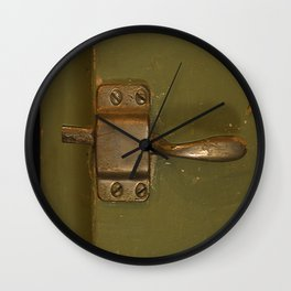 Ice Box Latch Handle Wall Clock