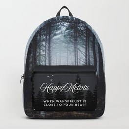 No more roads Backpack