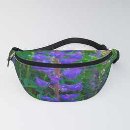 Montana Lupines in the Meadow Fanny Pack