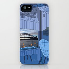 Sydney After Lunch iPhone Case