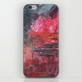 Burning Melody iPhone Skin