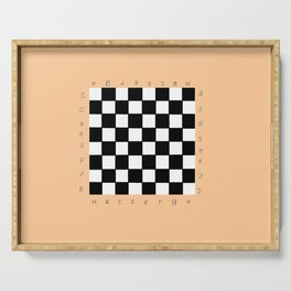 chessboard 4 Serving Tray