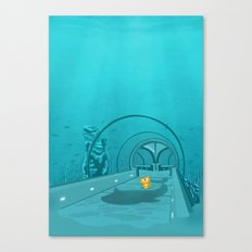 Gluttony - When the eye is bigger than the belly Canvas Print