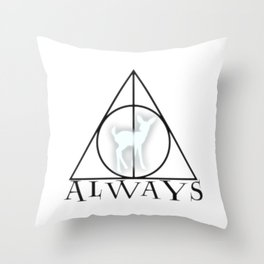 ALWAYS 002 Throw Pillow