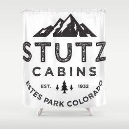 Stutz-Heimatfels Cabins Shower Curtain