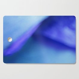 Blue Atmospheric Layers Cutting Board