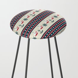 Let's Go Sailing Counter Stool