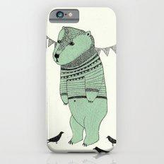 green bear iPhone 6s Slim Case