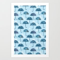 rain #1 Art Print