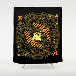 Ifrit fayth Shower Curtain