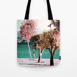 Blooming trees Tote Bag