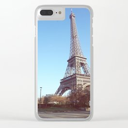 Tower of Love. Clear iPhone Case