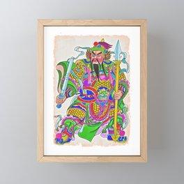 Japanese Samurai Warrior Art (30) Framed Mini Art Print