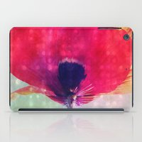 mod iPad Cases featuring Mod Poppy by V. Sanderson / Chickens in the Trees