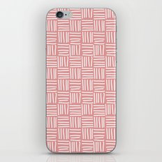 Lines pink iPhone & iPod Skin