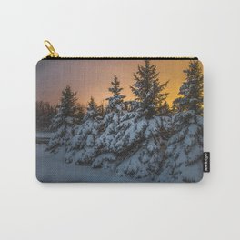 Winter Sunset 3 Carry-All Pouch