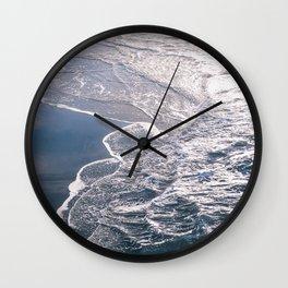 Ocean Beach Tides Wall Clock