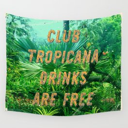 Club Tropicana #1 – A Hell Songbook Edition Wall Tapestry