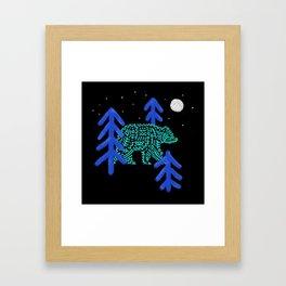 Night Walker Framed Art Print