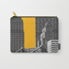Pittsburgh Steel City Skyline Pennsylvania 412 Downtown Photography Print Carry-All Pouch