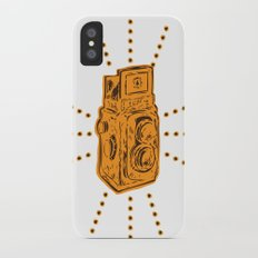 Vintage Camera iPhone X Slim Case