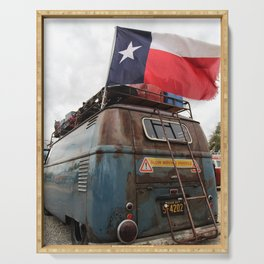 Texas Flag Serving Tray