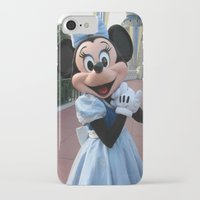 minnie mouse iPhone & iPod Cases featuring Minnie Mouse by Jackash14