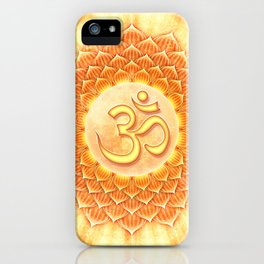 Lotos Om iPhone Case