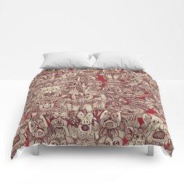 gargoyles red Comforters