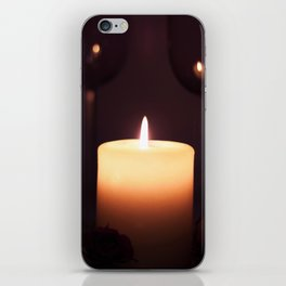 romantic date iPhone Skin