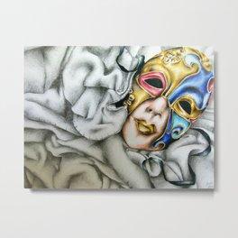 mysterious masquerade  Metal Print