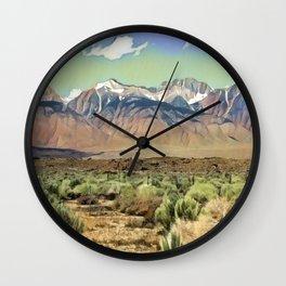 Sierra Nevada I Wall Clock