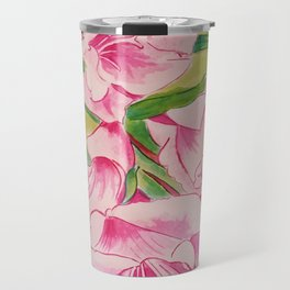 Her Mother's Gladiolus Travel Mug