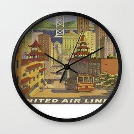 Vintage poster - San Francisco Wall Clock