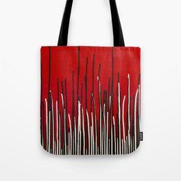 Piano Grass Tote Bag