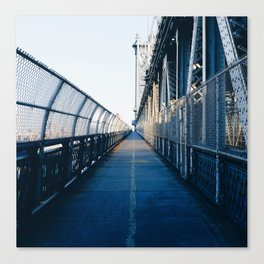 Manhattan Bridge (New York) Canvas Print