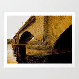 London Bridge, Lake Havasu Art Print