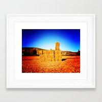 tetris Framed Art Prints featuring Tetris by trasteverestudio