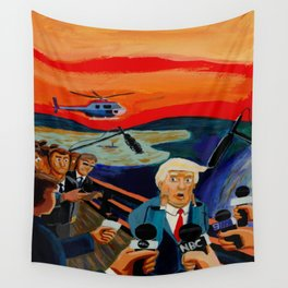 The Donald Scream Wall Tapestry
