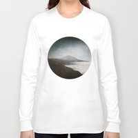 geology Long Sleeve T-shirts featuring Mount Teide and dust by UtArt