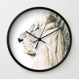 NORDIC LION Wall Clock