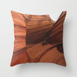 The Wave Enclave Throw Pillow